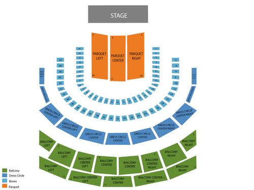 Seating Chart Weill Recital Hall - Carnegie Hall