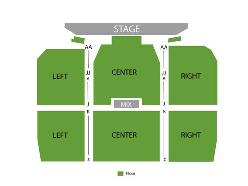 The B-52s Venue Map