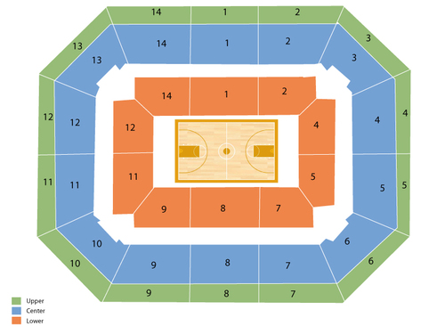 Alaska Airlines Arena Seating Chart