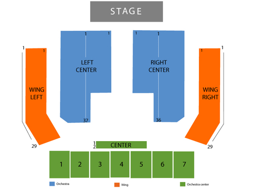 Sands Bethlehem Event Center Seating Chart