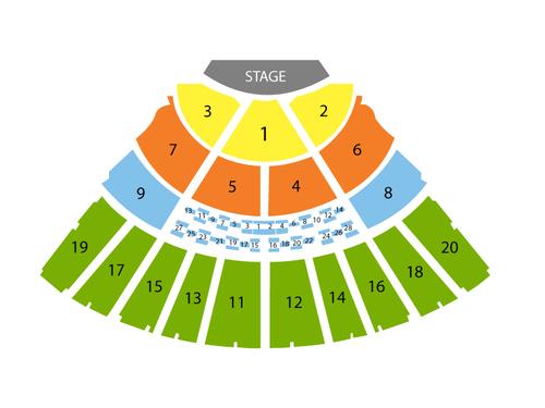 Tanglewood Seating Chart