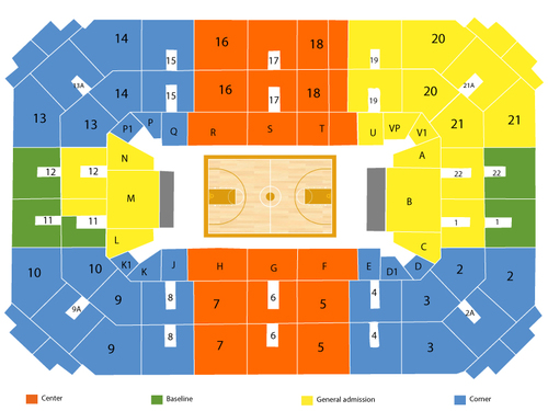 Allen Fieldhouse Seating Chart