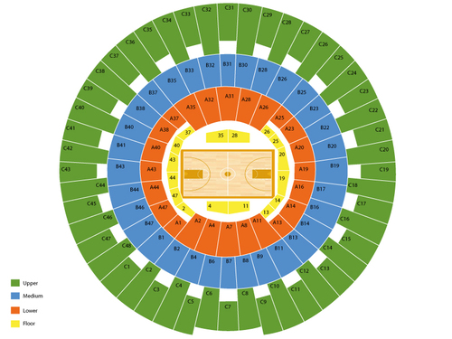 State Farm Center (Formerly Assembly Hall - IL) Seating Chart