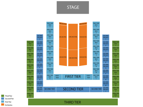 Benaroya hall seating chart events in seattle wa