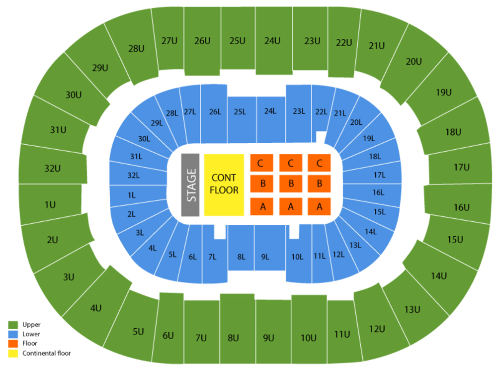 Marvel Universe Live Venue Map