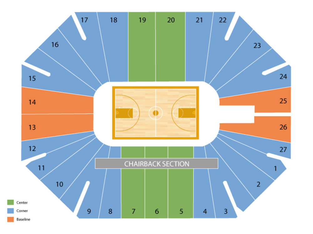 TCU Horned Frogs at Kansas State Wildcats Basketball Venue Map