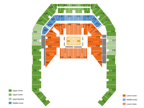 Carrier Dome Seating Chart