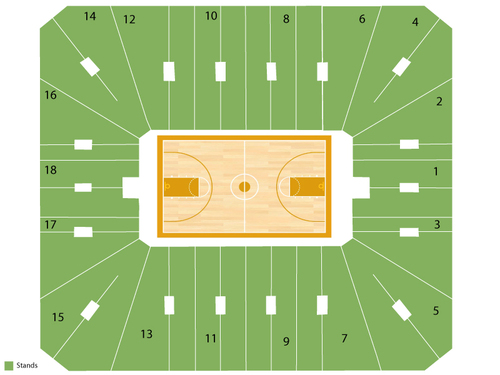Cassell Coliseum Seating Chart
