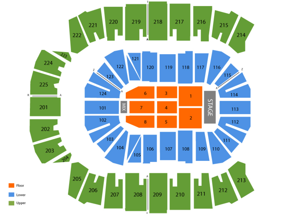 Charlie Wilson Venue Map