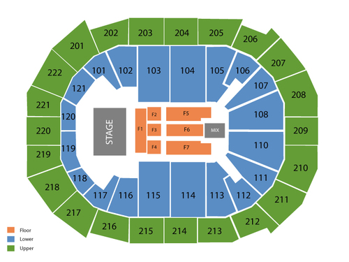 Chaifetz Arena Seating Chart