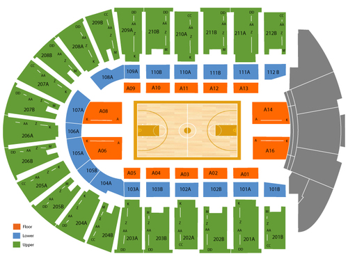Columbus Civic Center Seating Chart