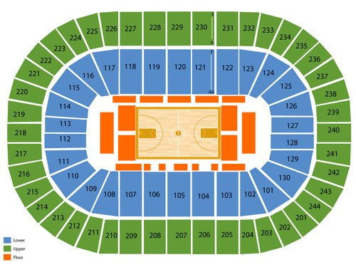 Times Union Center Seating Chart   Events in Albany ce7727bfe