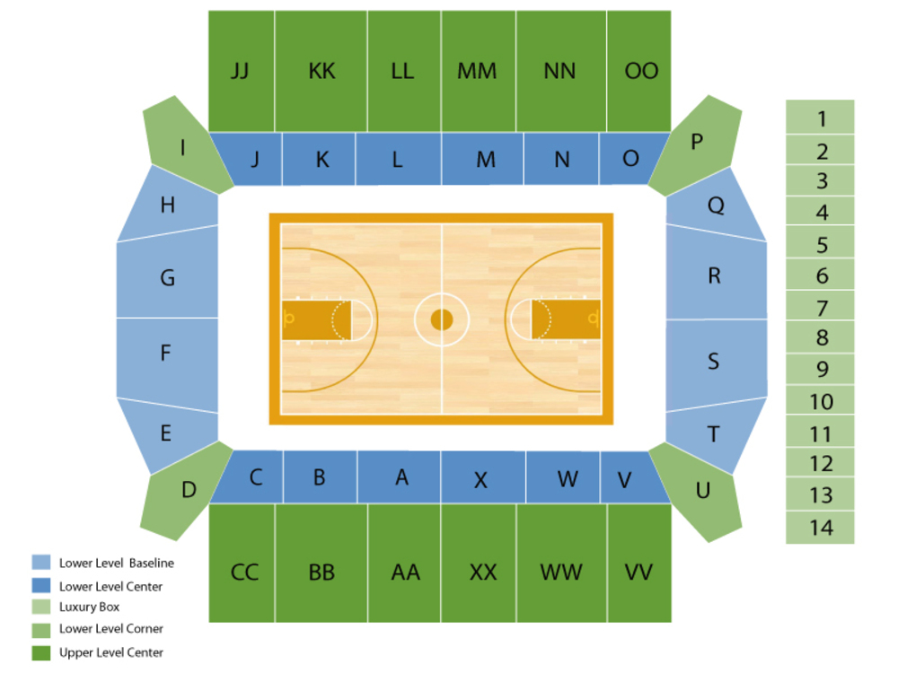 Silvio O. Conte Forum seating map and tickets