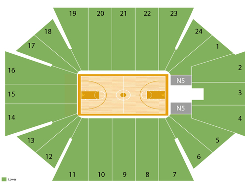 Coors Event Center Seating Chart