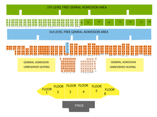 Del Mar Fairgrounds Seating Chart