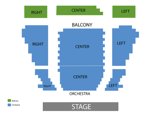 Omaha Community Playhouse Seating Chart