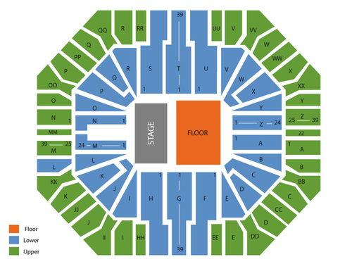 Don Haskins Center Seating Chart