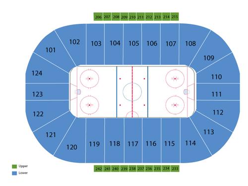 Santander Arena Seating Chart