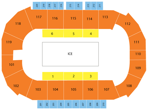 ShoWare Center Seating Chart