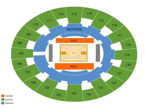 Ferrell Center Seating Chart