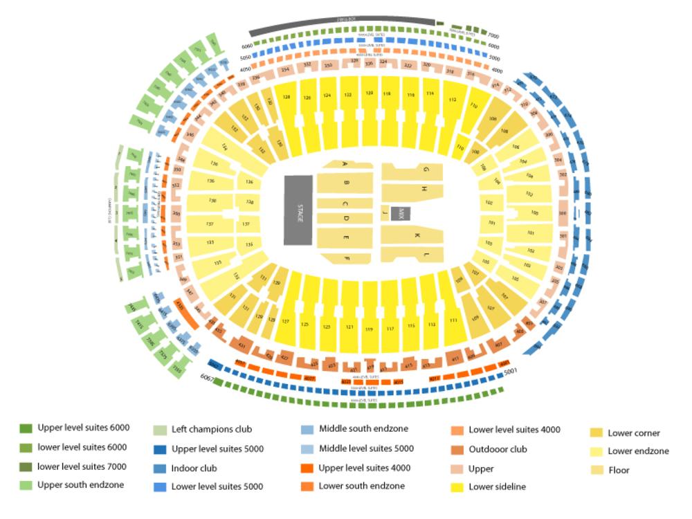 Billy Joel Venue Map