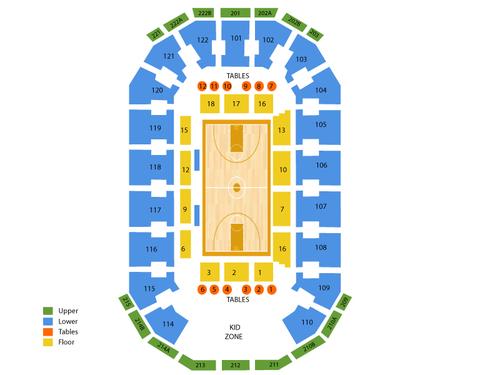 Cedar Park Center Seating Chart