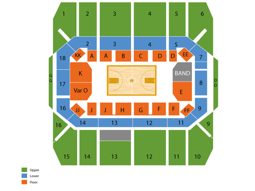 Gill Coliseum Seating Chart