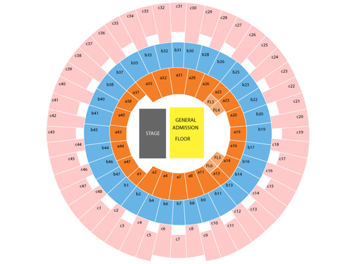 State Farm Center Formerly Assembly Hall Il Seating Chart
