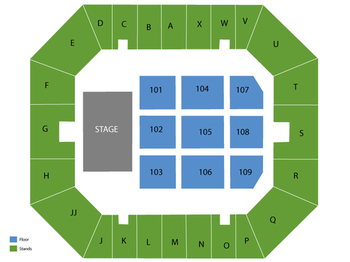 Glens Falls Civic Center Seating Chart