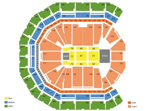 Pinnacle Bank Arena Seating Chart