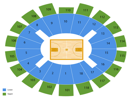 Purcell Pavilion at The Joyce Center Seating Chart