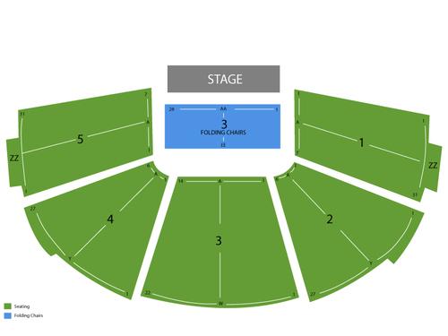 Kiva Auditorium Seating Chart
