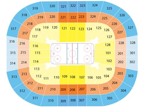 Kohl Center Seating Chart