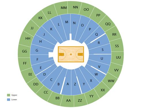 Huntsman Center Seating Chart