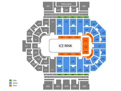 Allen County Memorial Coliseum Seating Chart