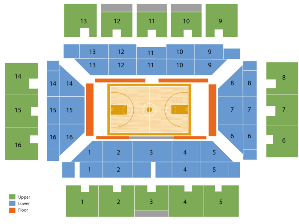Maples pavilion seating chart and tickets
