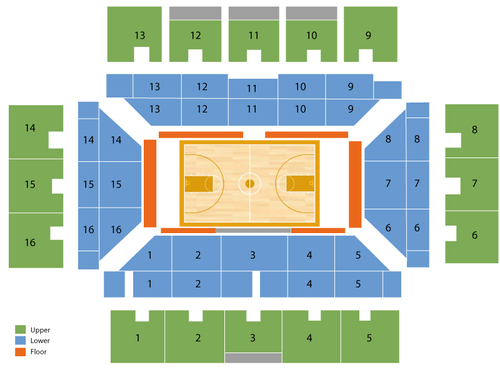 Maples Pavilion Seating Chart
