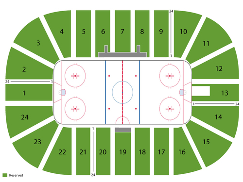 Mariucci Arena Seating Chart