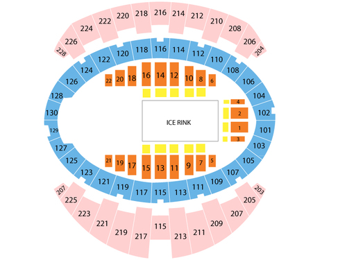 Long Beach Arena - Long Beach Convention Center Seating Chart