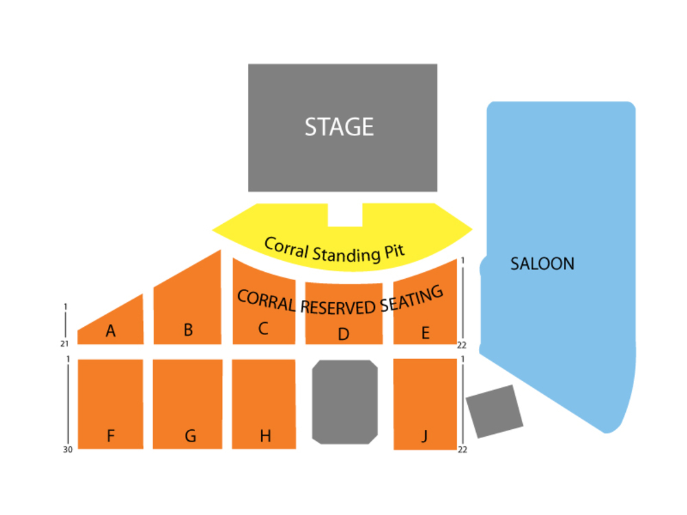 Stagecoach Country Music Festival - 3 Day Pass Venue Map