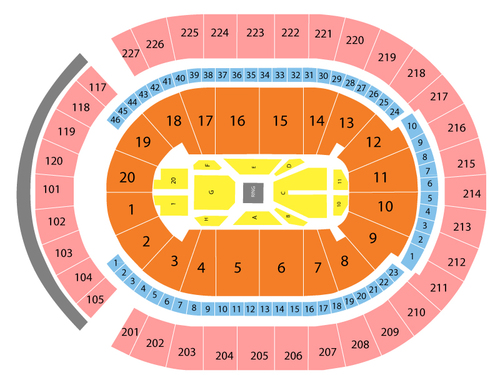 T Mobile Arena Seating Chart Vegas | Awesome Home