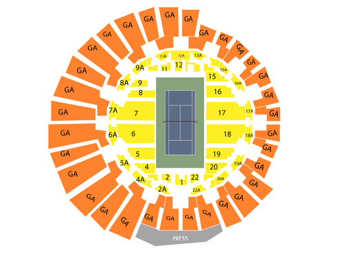 US Open Tennis Championship - Session 6 (Night Session - Grandstand ...