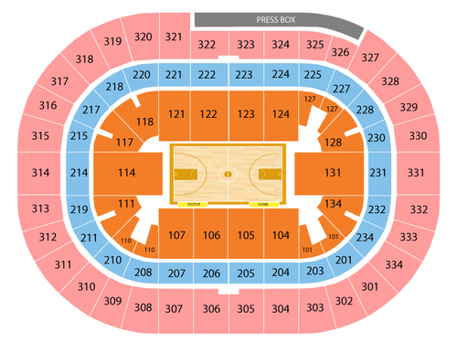 Citadel Bulldogs at Ohio State Buckeyes Basketball Venue Map