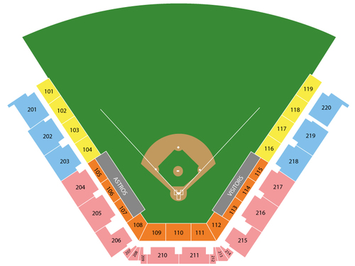 Osceola County Stadium Seating Chart