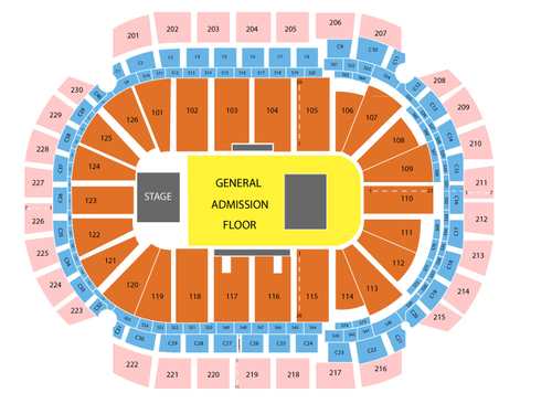 Xcel Energy Center Seating Chart