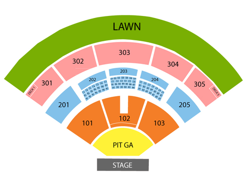 Jiffy Lube Live Seating Chart Events In Bristow Va