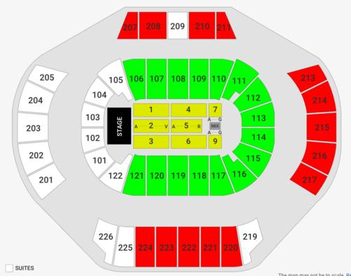 Philips Arena Seating Chart