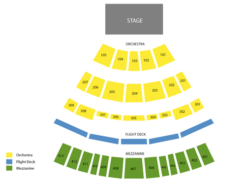 Verizon Theatre at Grand Prairie Seating Chart