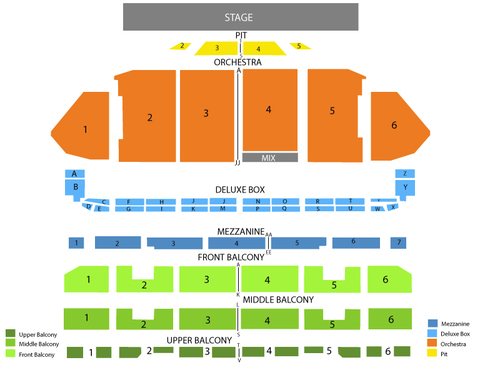 The Illusionists Venue Map