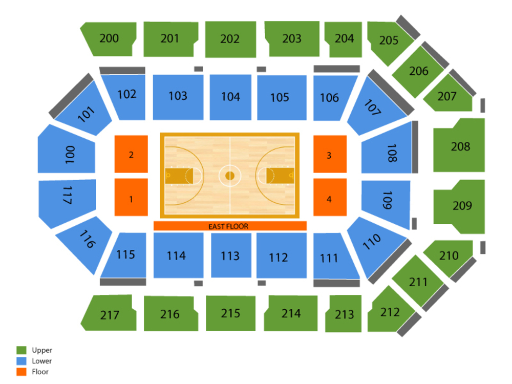 Rabobank Arena Seating Chart Cheap Tickets Asap